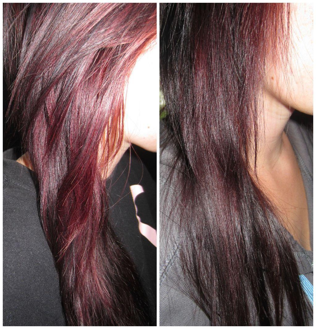 Gabys Beauty Blog Project Burgundy Hair Revlon Colorsilk In