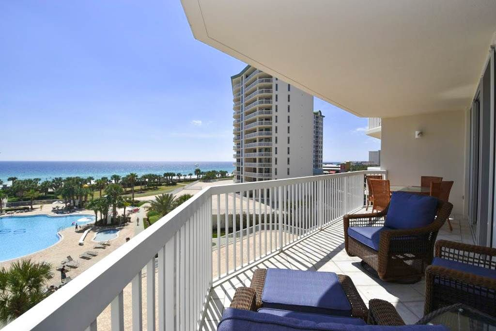 Silver Shells St. Croix 504. 3 Bedroom, 2 Bathroom Gulf-Front Condo. Sleeps 10. Located in Destin, Florida and professionally managed by Compass Resorts