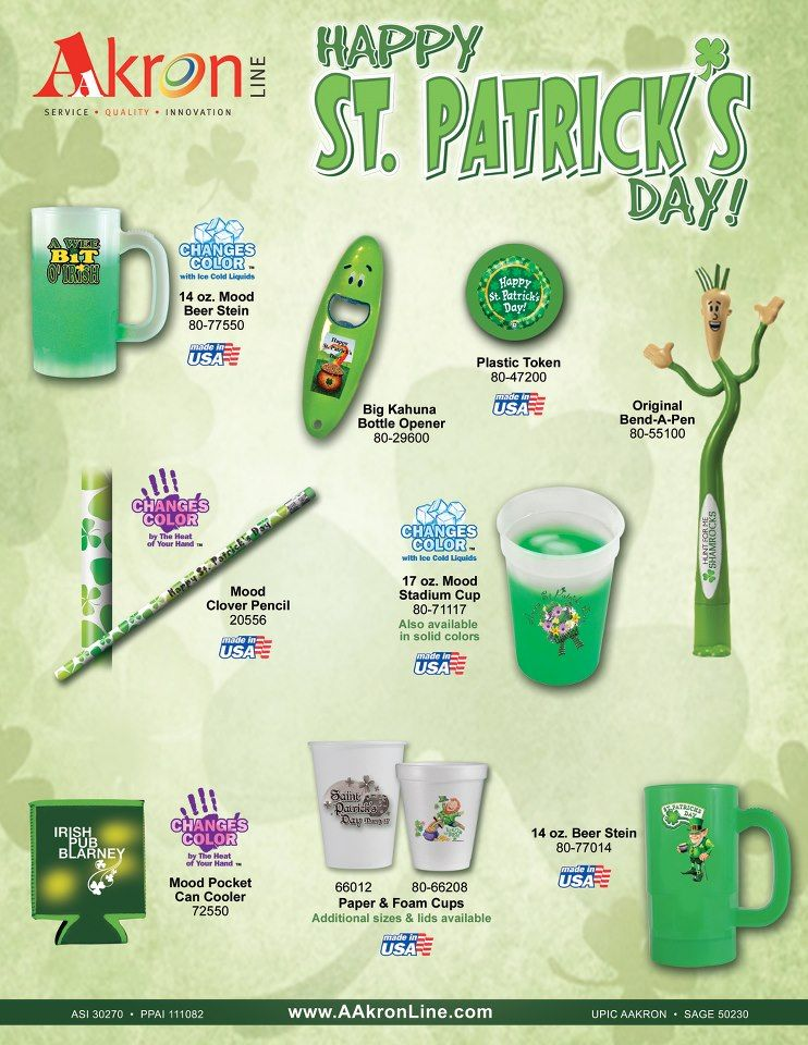 Everyone is irish on st patricks day promo gifts day