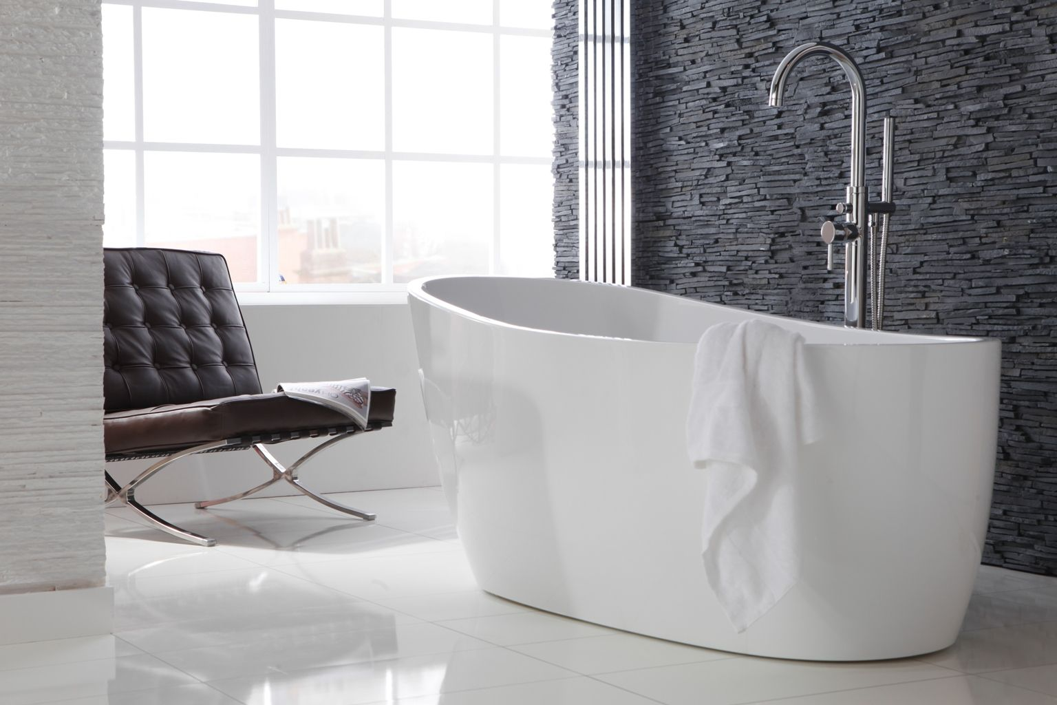 Oh to bathe in luxury! This indulgent freestanding bath from ...