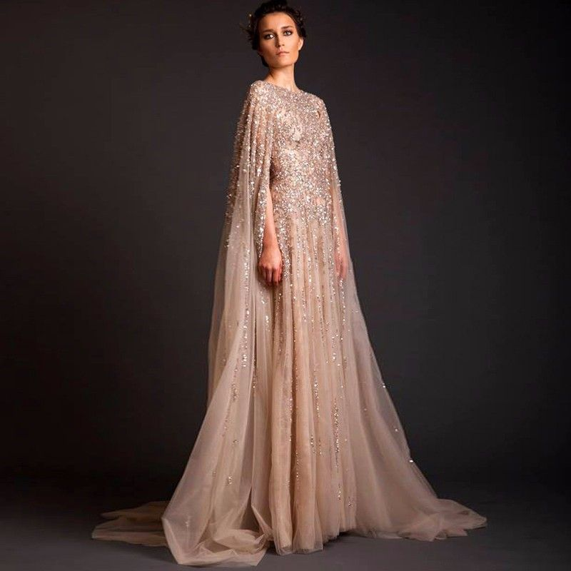 Vestido Longo Abendkleider Saudi Arabia Long Arab Evening Dresses ...