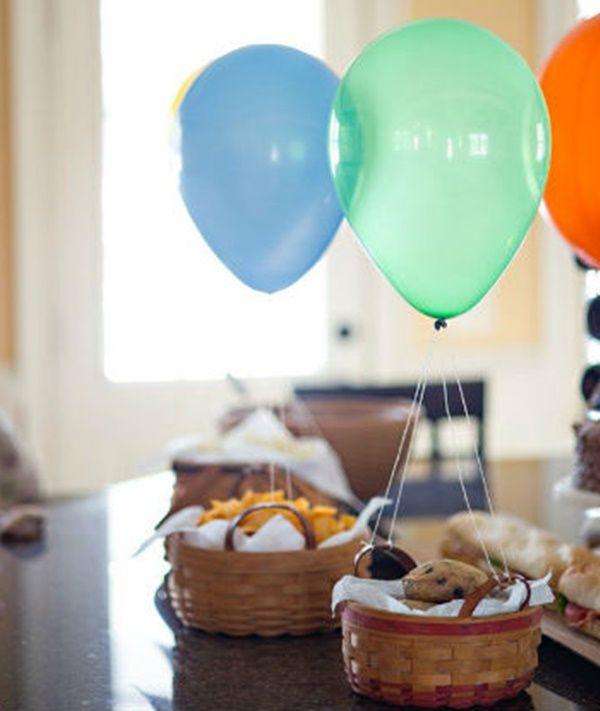 Ideas creativas para decorar globos infantiles con helio - Ideas creativas para decorar ...