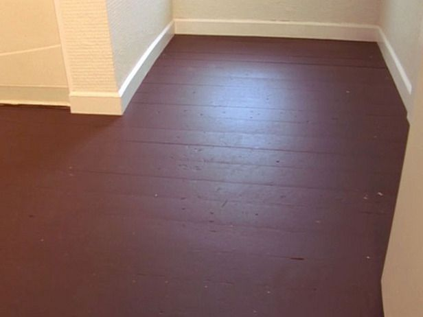 Like This Painted Wood Floors Staining Wood Floors Concrete
