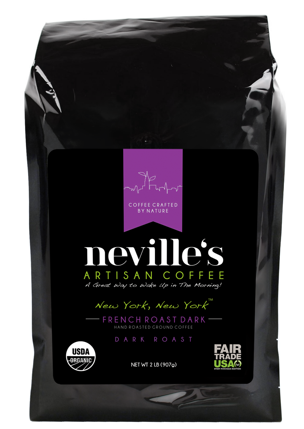 New York, New York™ French Roast Dark Ground Coffee USDA
