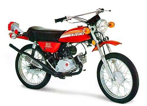 SUZUKI TS50 Motorcycle