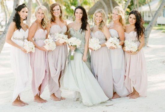 Beach Wedding Bridesmaid Dress