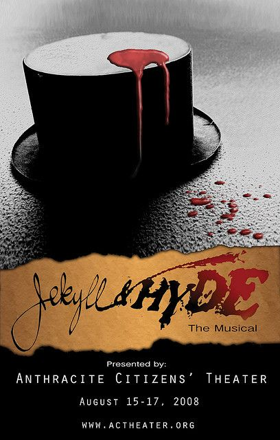 Jekyll Hyde Poster Musicals Jekyll And Mr Hyde Hyde