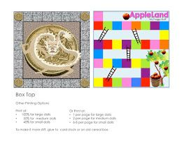 dragon coins and apple land game boards