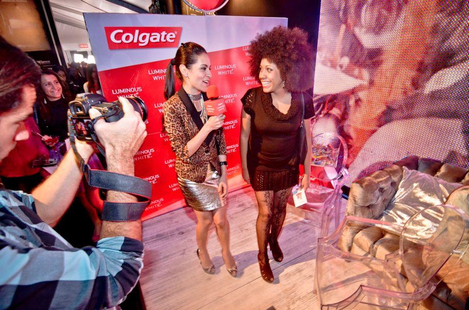 Colgate Luminous White Fashion Week