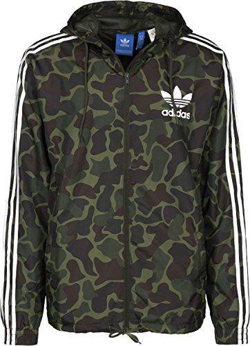 Camouflage jacke herren adidas
