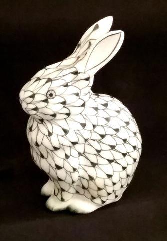 Vintage Porcelain Rabbit