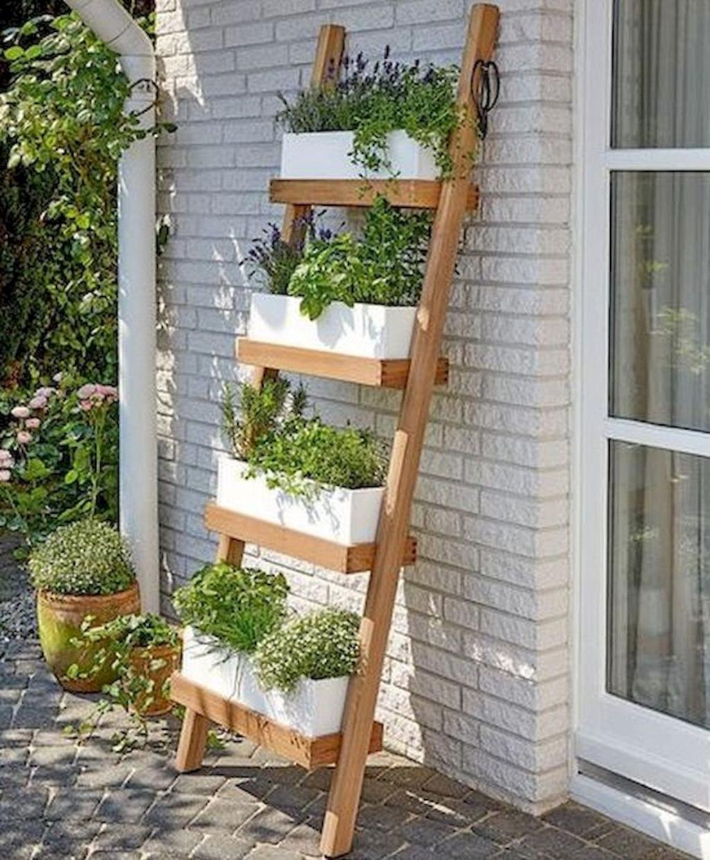 Vertical Herb Garden Ideas: 33 The Best Ladder Garden Planter Ideas In 2020