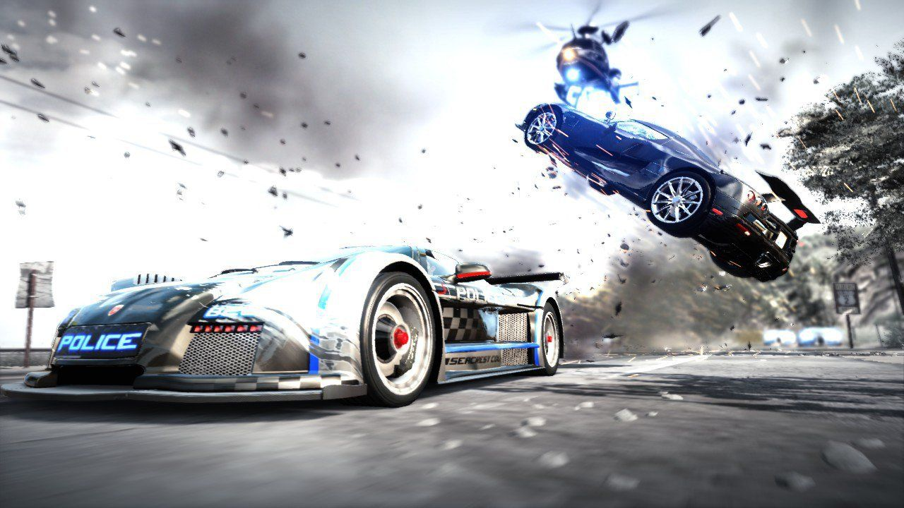 Need For Speed The Run Hot Pursuit Hd Desktop Wallpaper En
