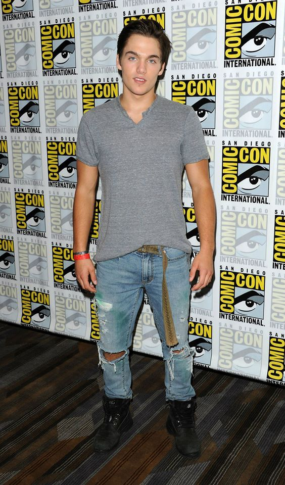 Dylan Sprayberry at Comic-Con 2014 | Lights, Camera, Acton | Dylan