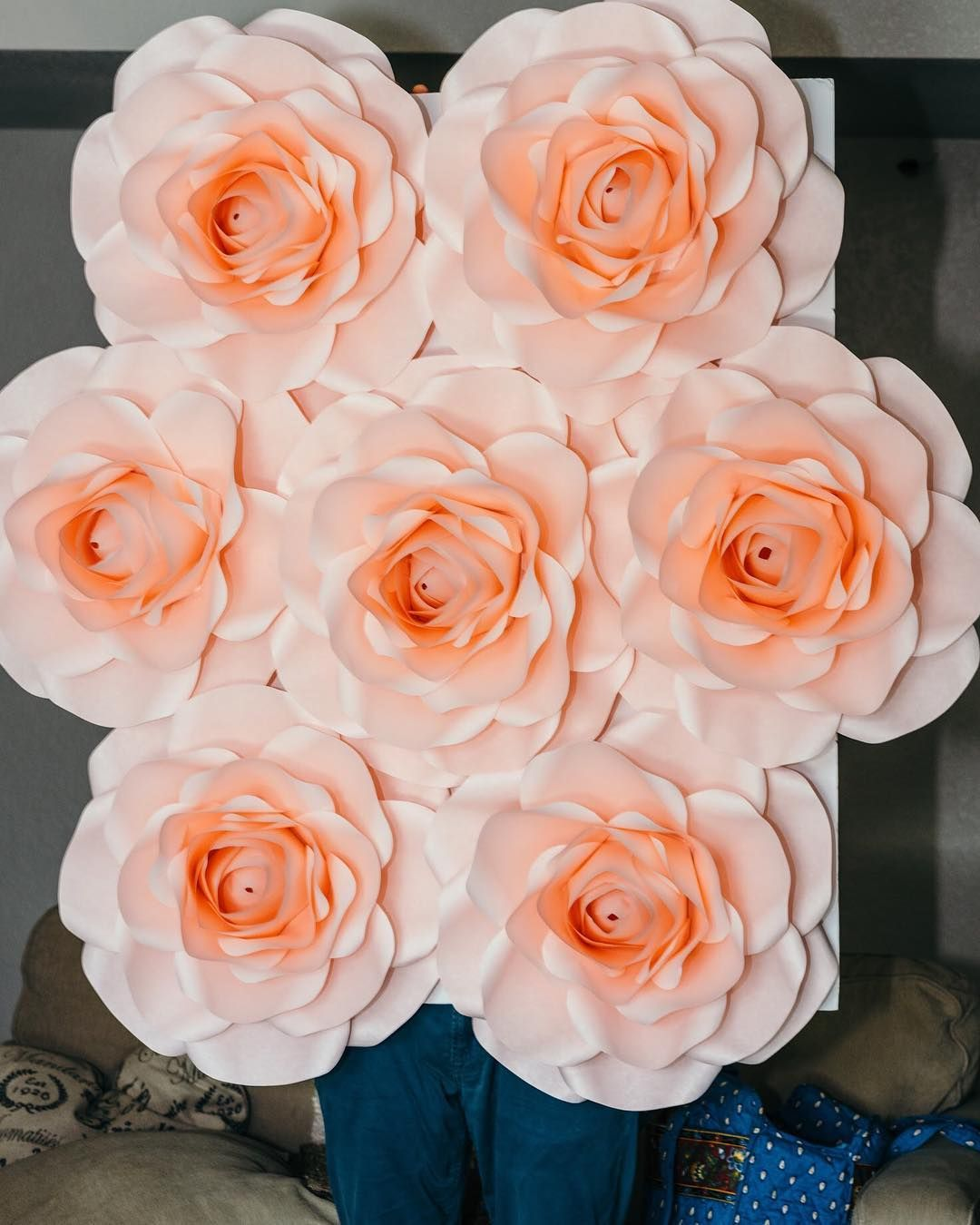 Small Paper Rose Wall For Sale Locals Only Sacramento 4x4