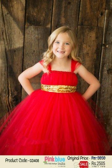 New Birthday Party Flower Fairy Princess Baby Girls Dress Wedding Kids Clothes