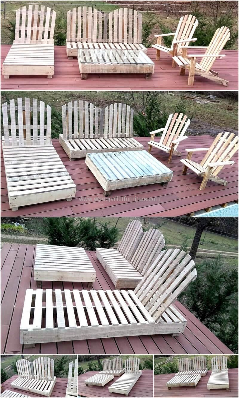outdoor deck furniture ideas pallet home. Wood Pallet Patio Furniture Idea Outdoor Deck Ideas Home