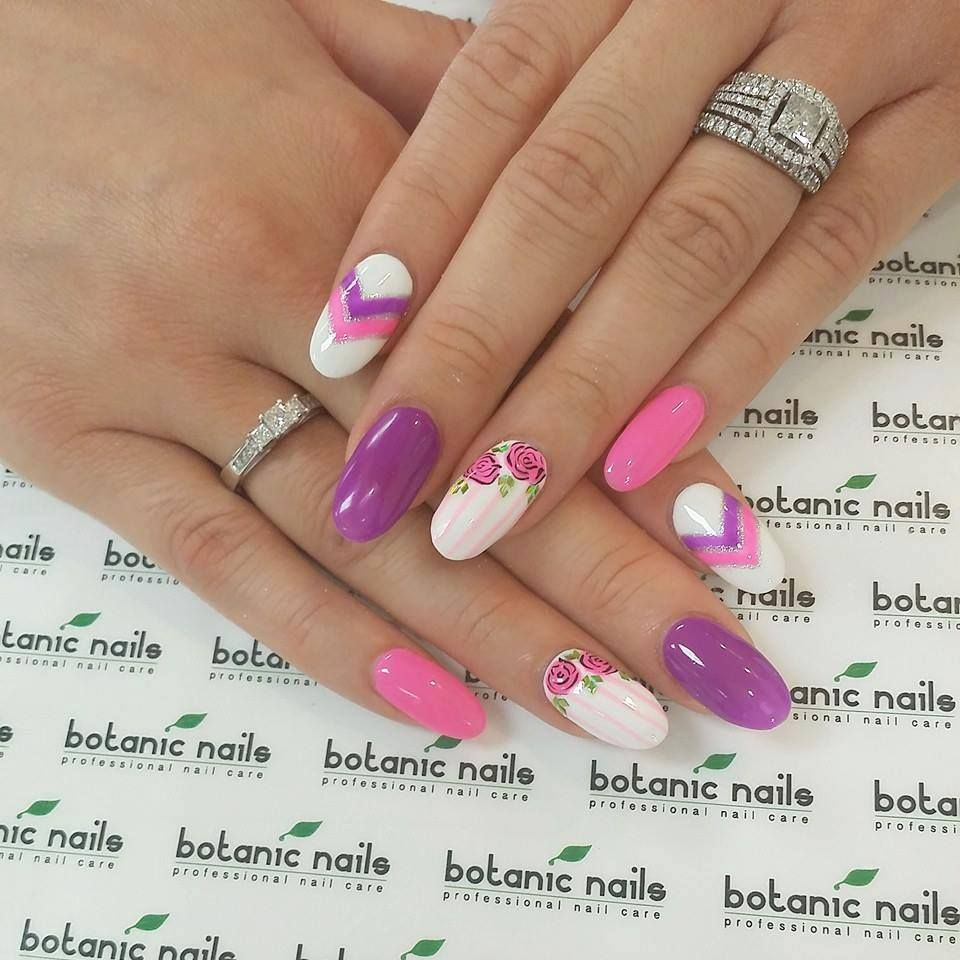Nice Nail Design | Nail Art ideas | Pinterest | Colorful nails ...