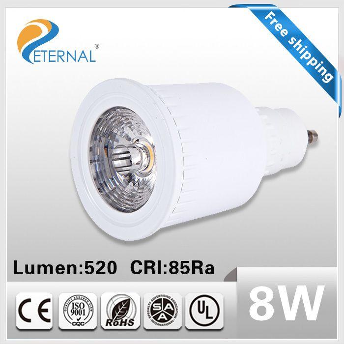 Find More Led Bulbs Tubes Information About 10pcs Dimmable 220v Led Spot Lights 8w Sharp Cob Led Spot Light Gu Spotlight Bulbs Led Spotlight Led Ceiling Lamp