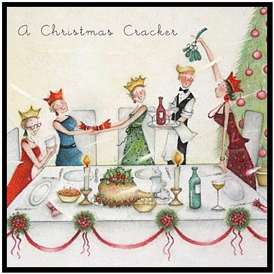 A Christmas Party with Mistletoe  , Ladies Who Love Life ... Berni Parker funny cute  Berni Parker Designs