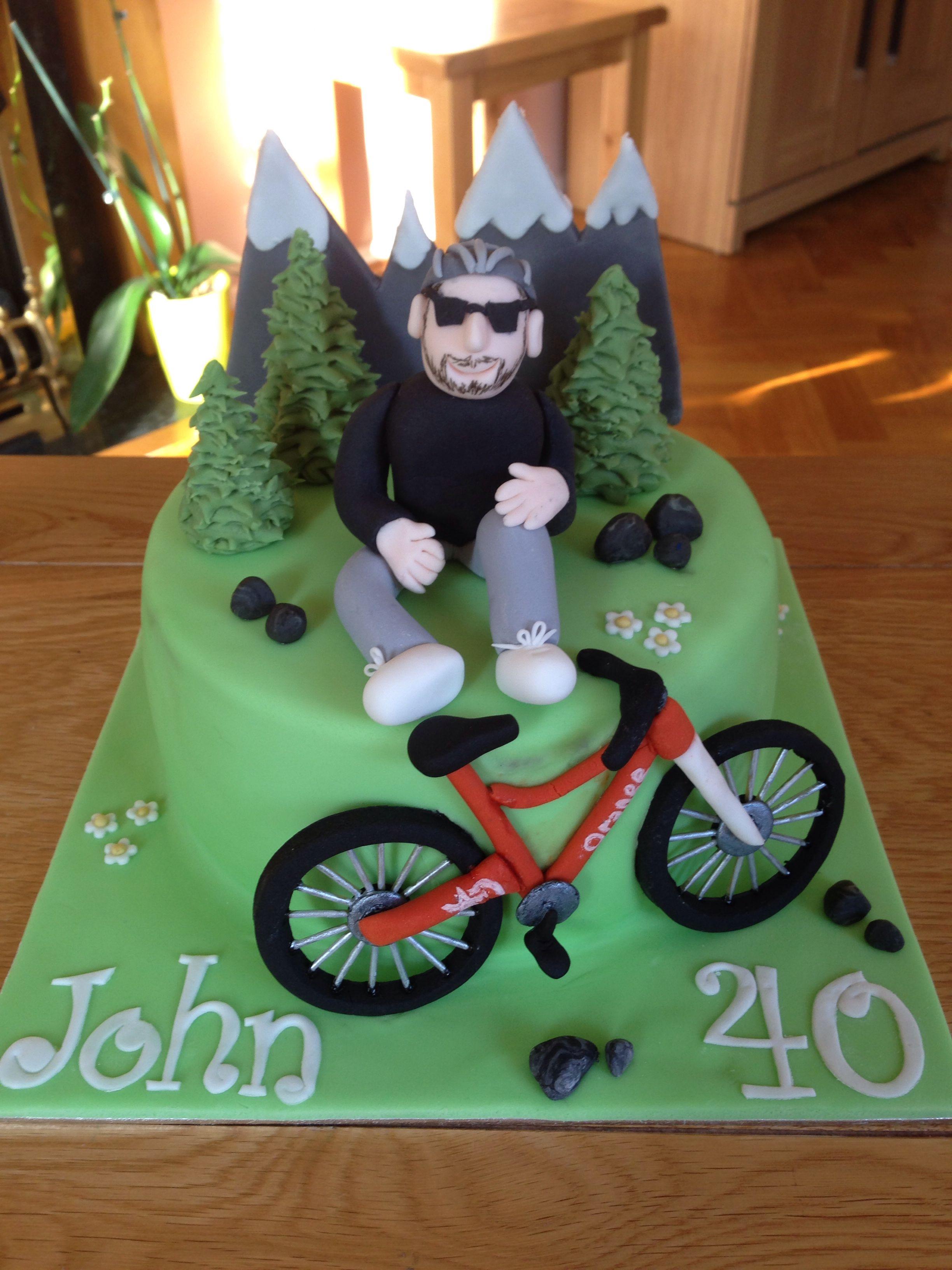 My Mountain Bike Cake Bike Cakes Mountain Bike Cake Bicycle Cake