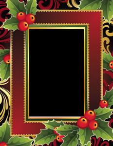 Новогодние и зимние рамки | Рождественский фон, Рамки и ...