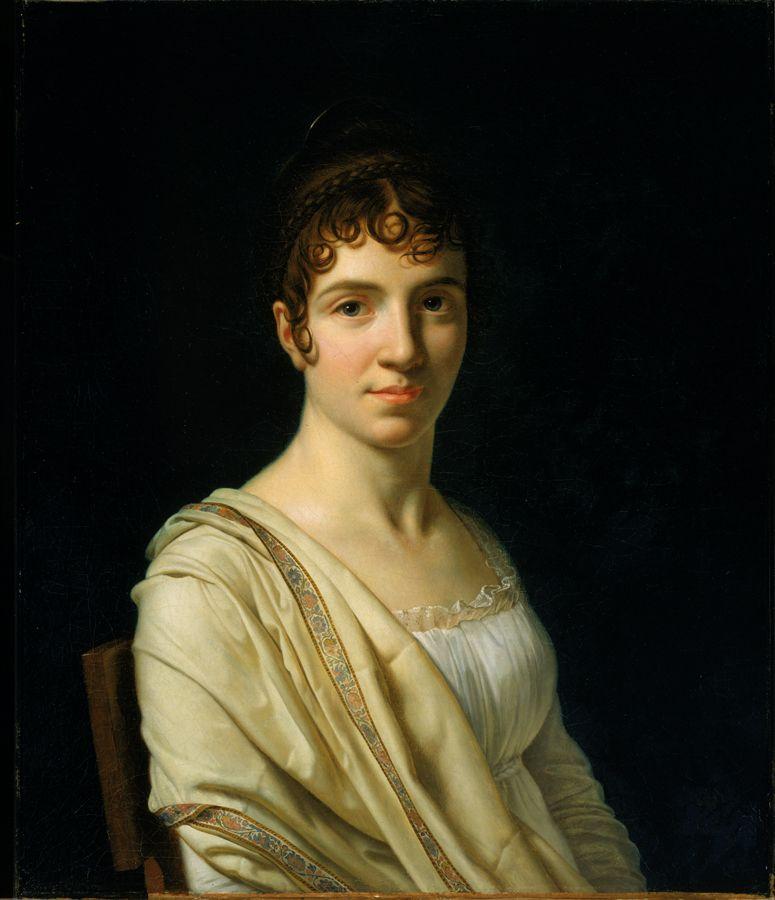 Anne-Louis Girodet-Trioson (French; 1767–1824) - Madame Cabanis (née Charlotte-Félicité de Grouchy) 1804