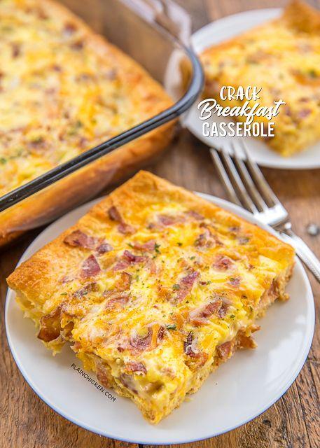 Crack Breakfast Casserole - Plain Chicken