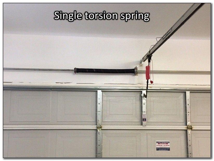 Garage Door Double Torsion Single Spring Conversion Kit Check More At Http Eraseboard Design Garag Single Garage Door Raynor Garage Doors Garage Door Springs