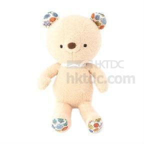 Plush Fleece Fiber Japen Bear Toys 100mm High (China)