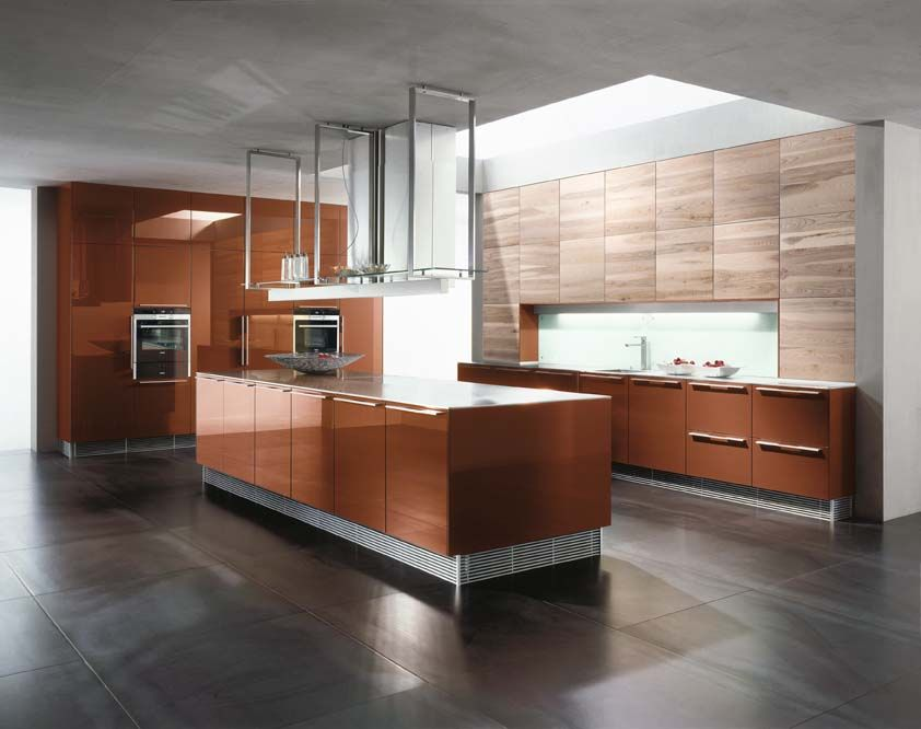 Copper Brown and Ash - Intuo - Luxury Kitchens Maidenhead. German Kitchen  Designers. Zona