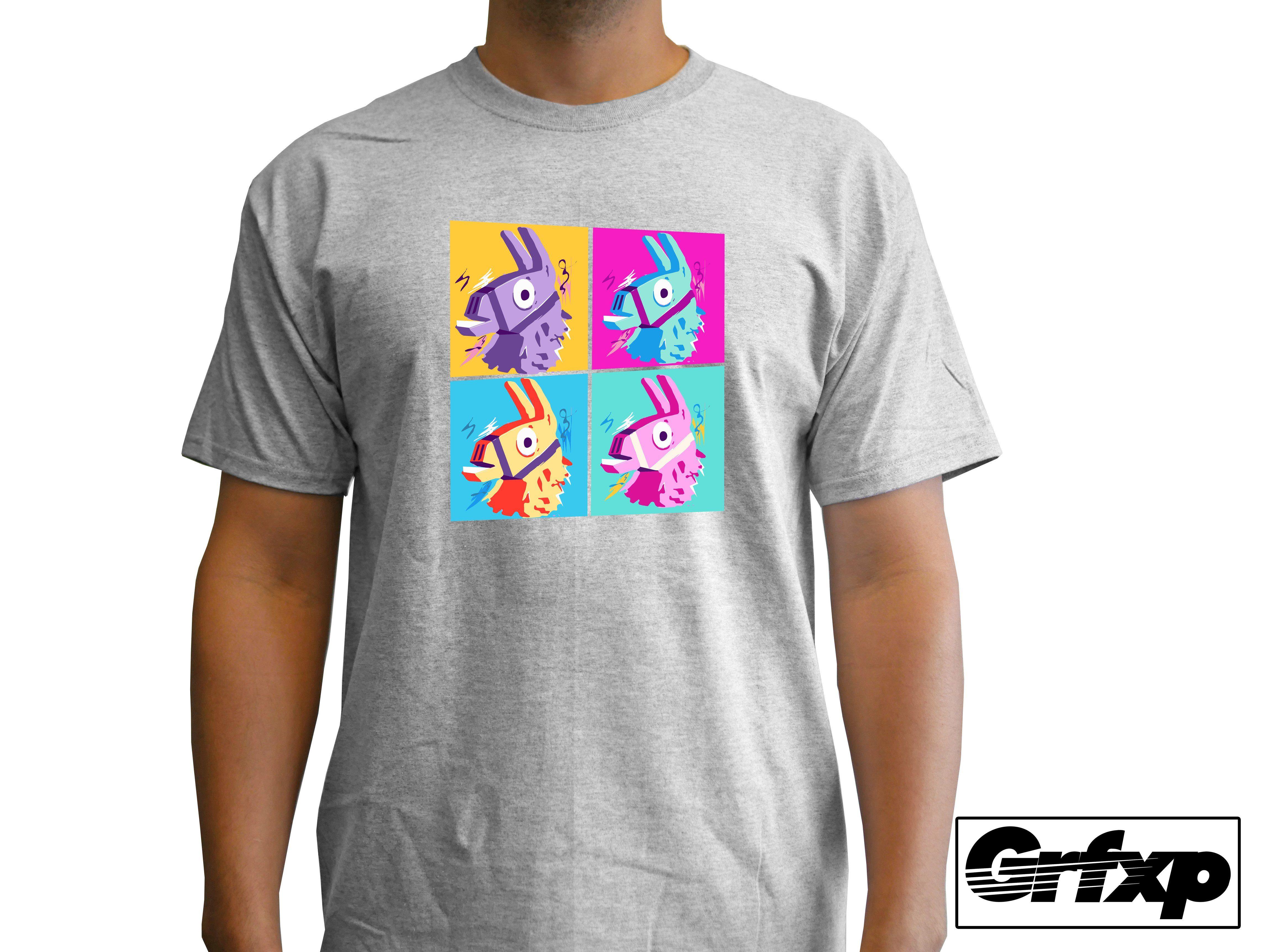 1d872ee1 Loot Lama Quadrant Fortnite T-Shirt | Products | Shirts, T shirt ...