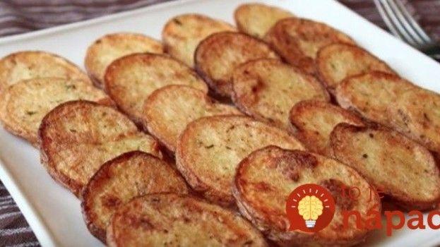 Chalupárske hranolky z nových zemiakov. Bez vyprážania!