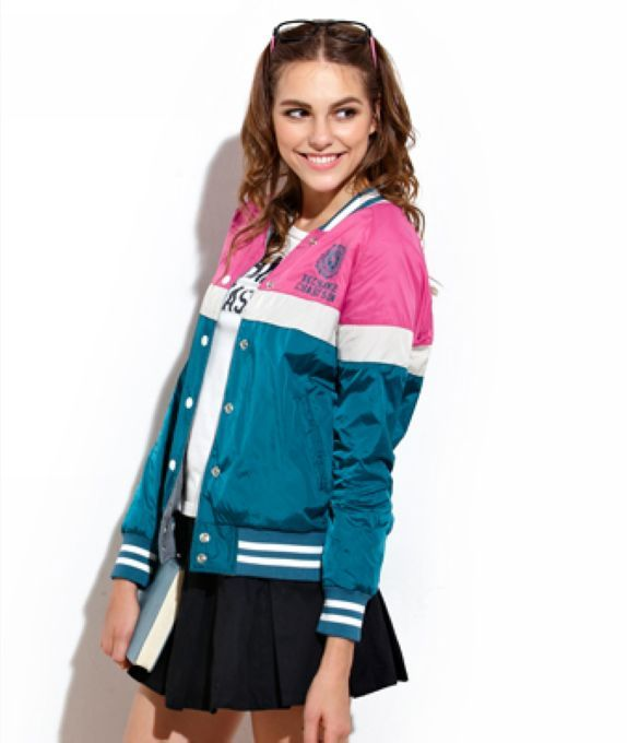 jacketers.com womens baseball jackets (10) #womensjackets | All ...