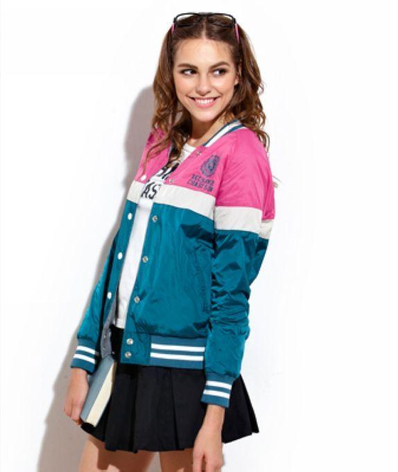 jacketers.com womens baseball jackets (10) #womensjackets | All ...