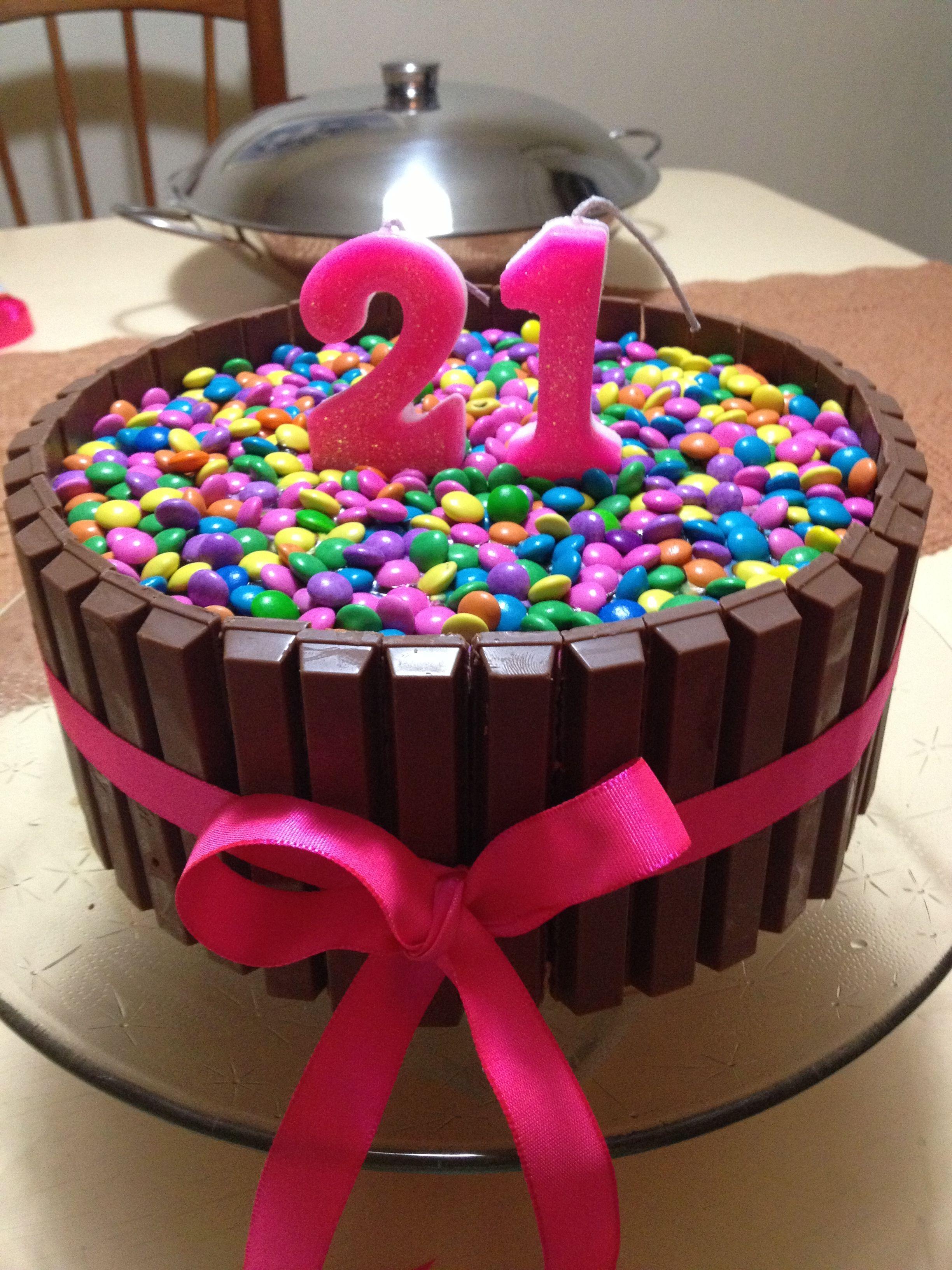 Homemade 21st Birthday Cake Yummy