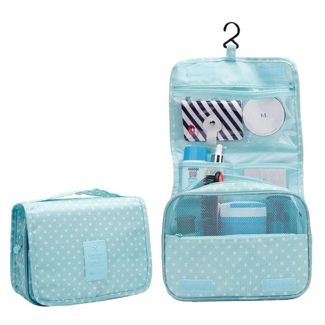Travel set High quality waterproof portable man toiletry bag women cosmetic  organizer pouch Hanging wash bags 623173fd715f8