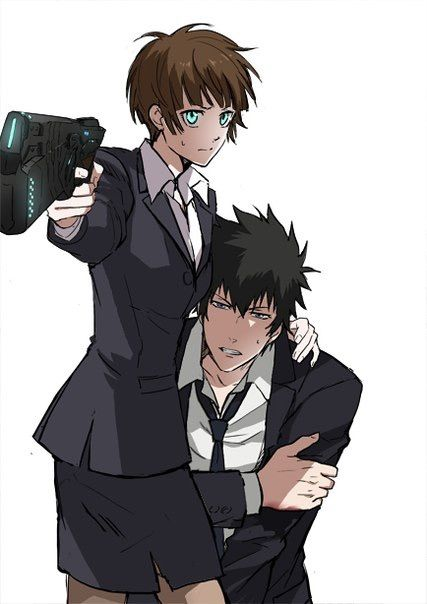 I'll protect you kougami-san