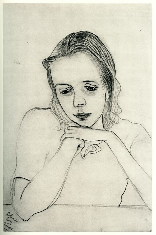 Image result for alice neel drawing