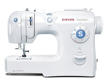 40 Stitch Patterns Automatic Needle Threader SureFit Bobbin Interesting 4 Step Buttonhole Sewing Machine