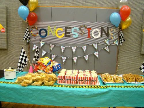 pinewood derby car racing party