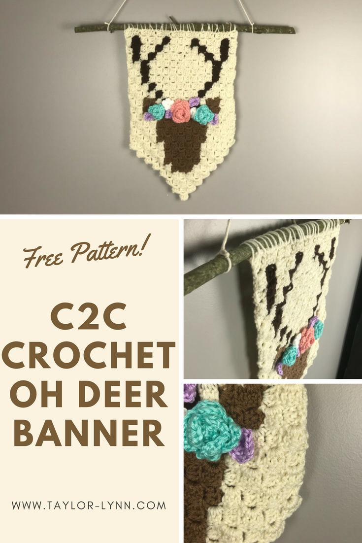 Here\'s a unique home decor idea! Free crochet pattern for the corner ...
