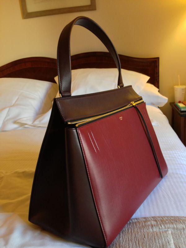 f64c5f513cbd Lolita Abraham  New crush  Céline Edge bag!