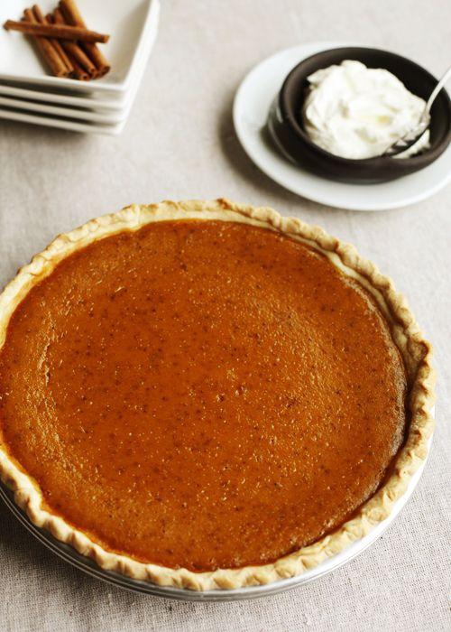 Homemade Pumpkin Pie #pumpkinpie