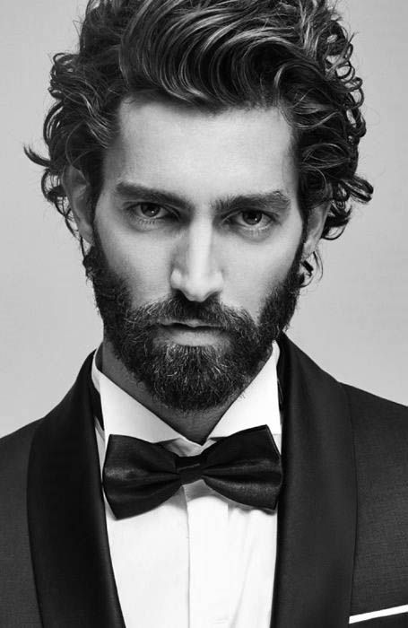 Hairstyles For Men With Long Hair Unique 50 Long Curly Hairstyles For Men  Manly Tangled Up Cuts  Pinterest