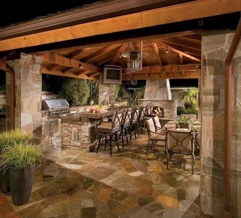 83+ Stunning Stylish Outdoor Living Room Ideas To Expand