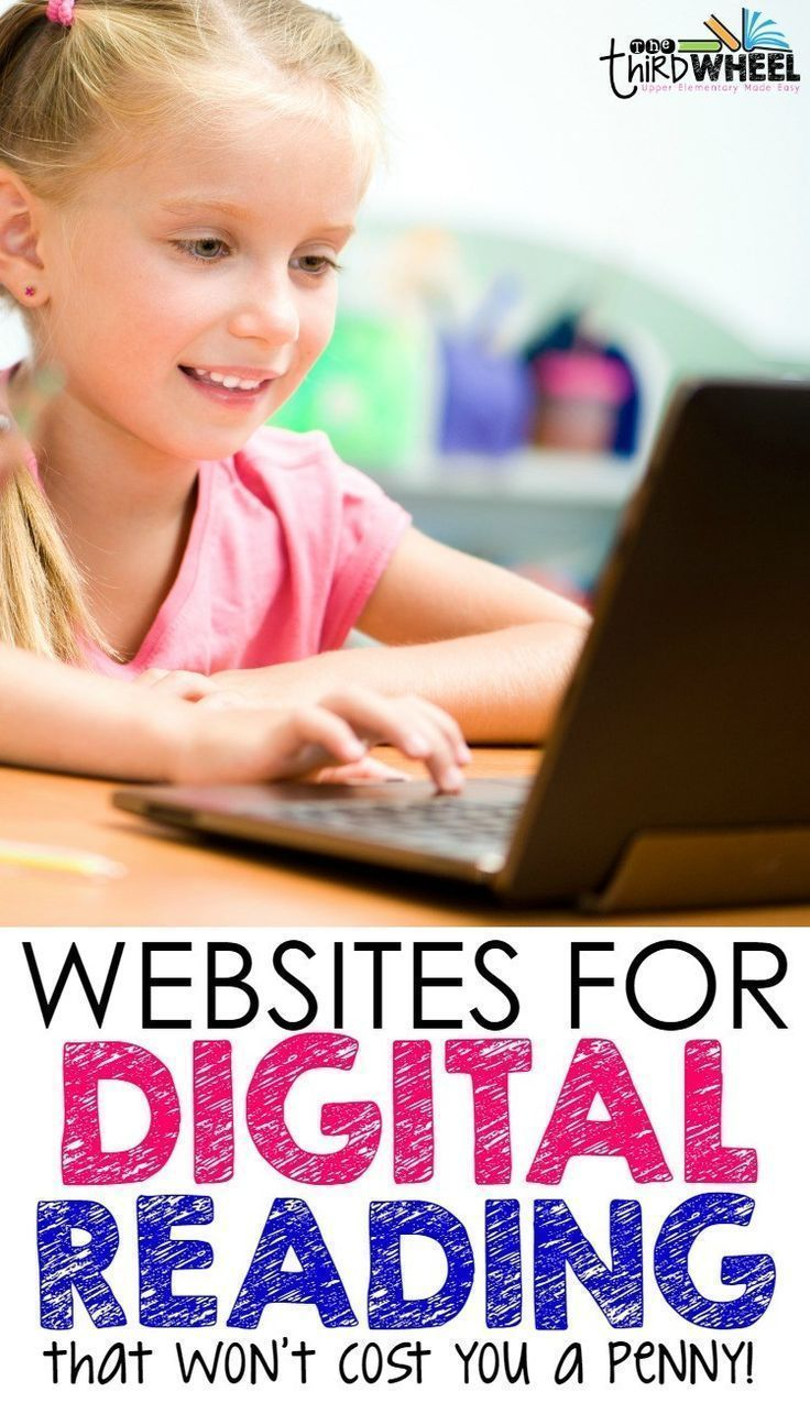 Free digital reading resources for the upper elementary