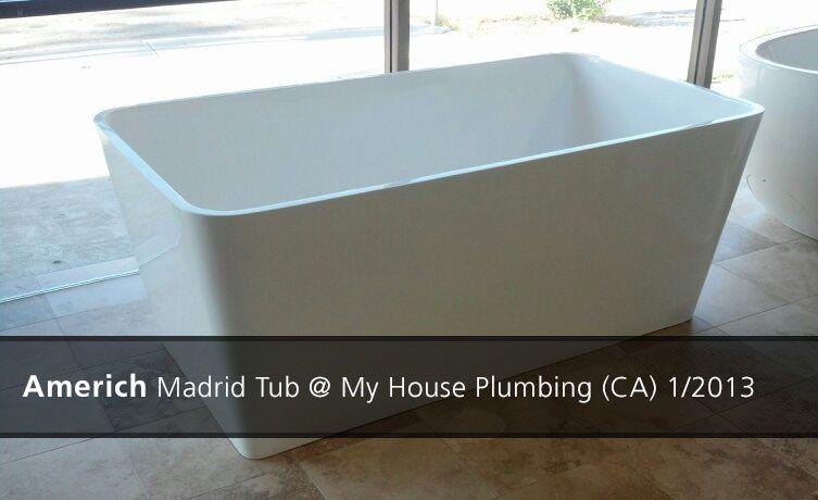 Americh Madrid Tub My House Plumbing Ca 2013 Tub Plumbing