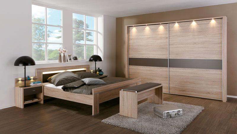 Schön schlafzimmer mit schwebetürenschrank Deutsche Deko