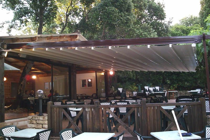 Pergola Roof of LITRA - Awnings, Canopies, & Shade Structures Wholesale & Manufacturers - West Orange, NJ